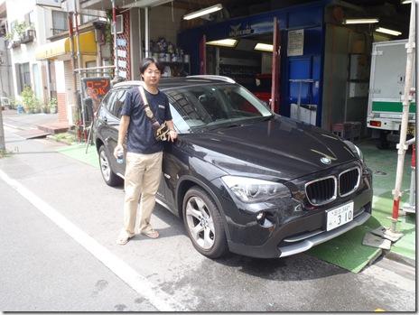 BMW X1 オーナー佐藤様 ガラスコーティング