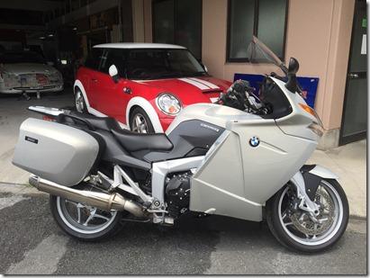 BMW 1200GT 修理